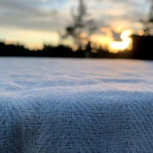 Ecofriendly fabric with nettle and hemp fibre