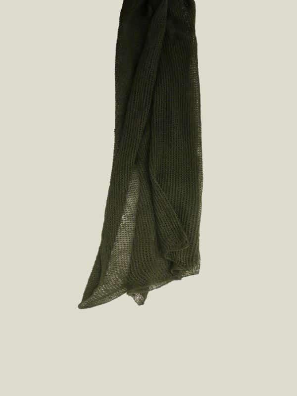 vainio.seitsonen x knokkon green scarf