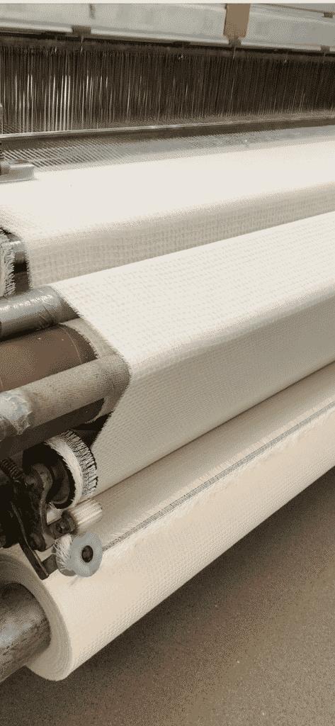 Knokkon fabrics in making